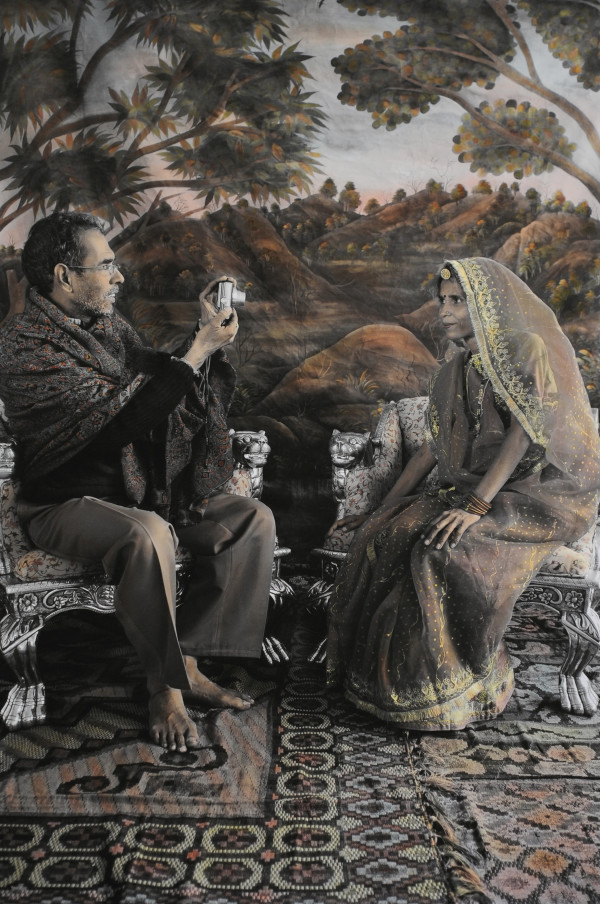 A Local Photographer and his Wife by Waswo X. Waswo