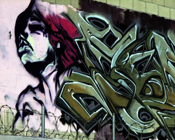 LA Street Art by Mark Peacock