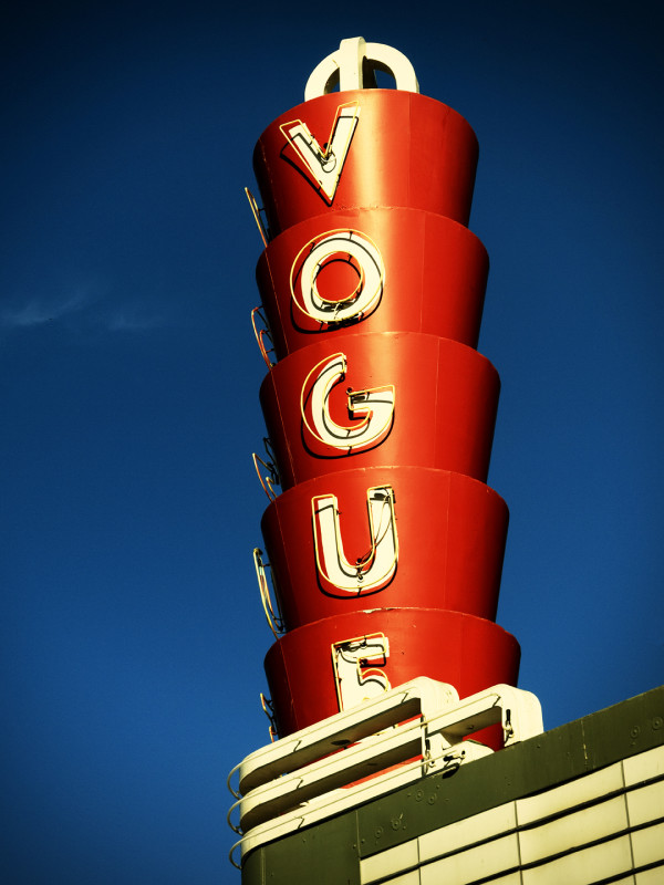 Vogue Theatre by Mark Peacock