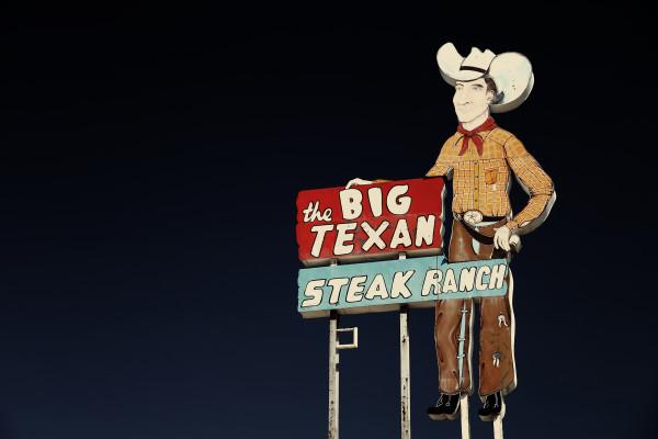 The Big Texan Steak Ranch by Mark Peacock