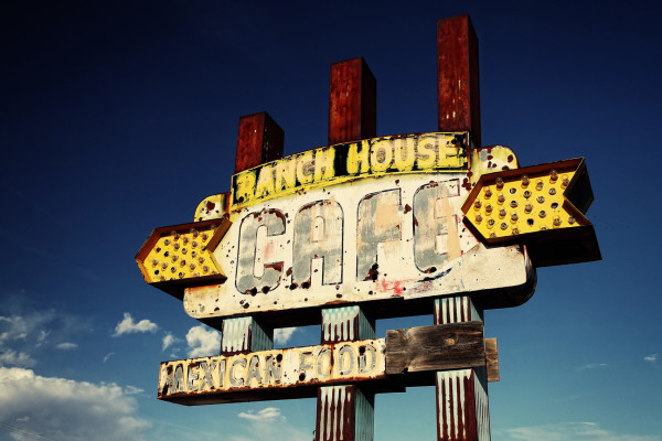 Ranch House Cafe by Mark Peacock