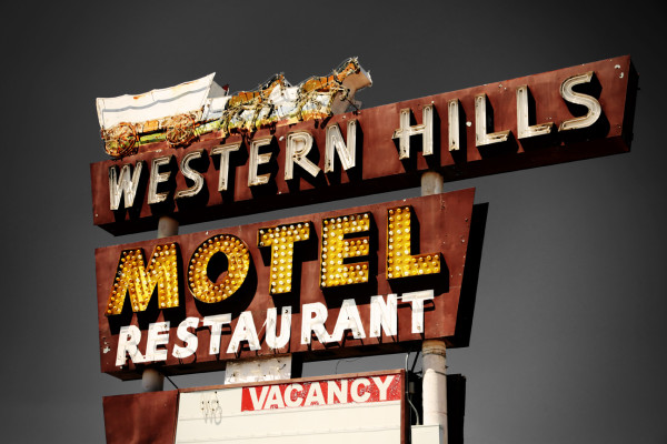 Western Hills Motel by Mark Peacock