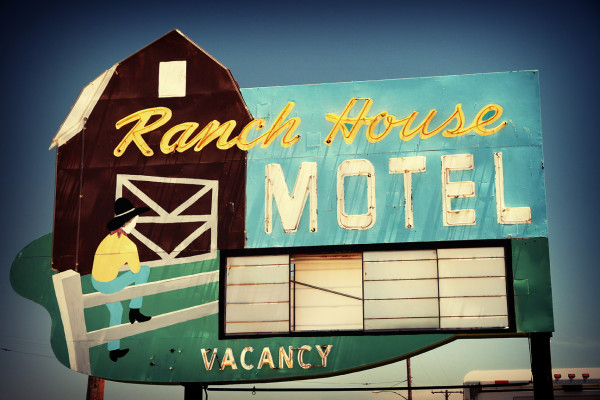 Ranch House Motel by Mark Peacock