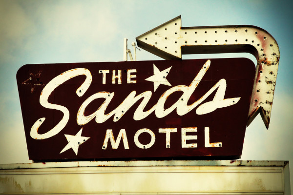 The Sands Motel by Mark Peacock
