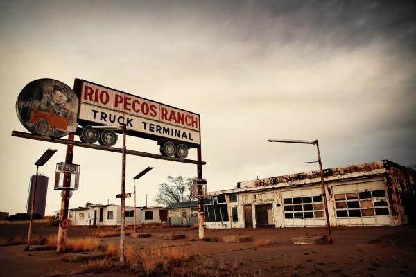 Rio Pecos Ranch by Mark Peacock