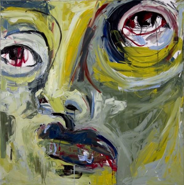 Blind Contour face by D Hake Brinckerhoff