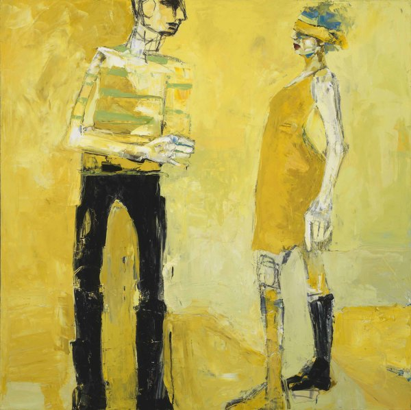 In Tension I by D Hake Brinckerhoff