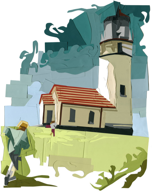 Lighthouse Run by Samantha Snyder