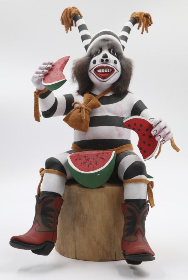 Hono Clown Kachina by L. Jim