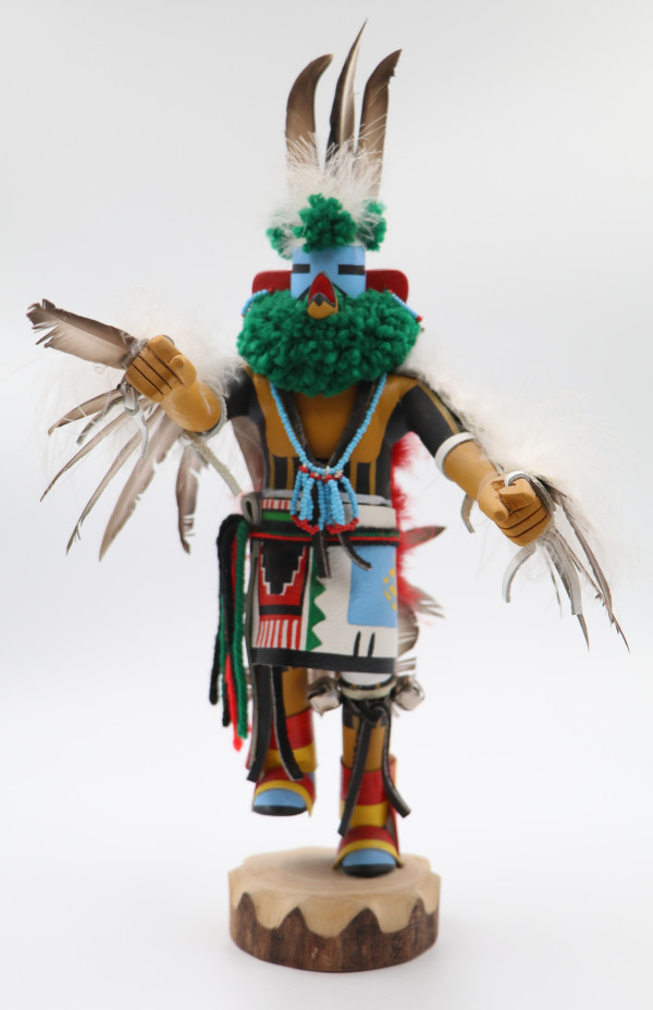 Zuni Eagle Dancer by Luther Lutse