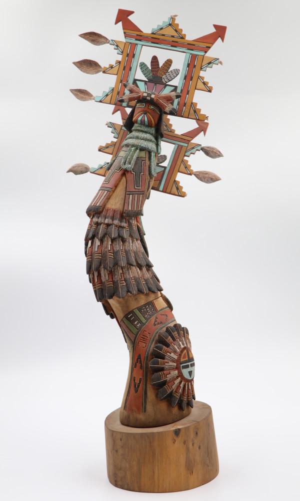 Shalako Kachina by Tayron Polequaptewa