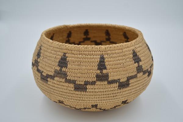Washoe or Paiute Coiled Basket