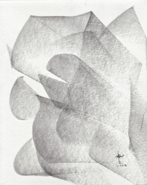 Obras en graphite_0066_Como una rosa 1 by Luis Ituarte
