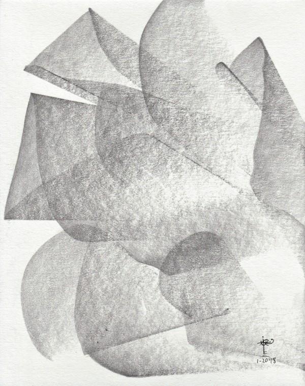 Obras en graphite_0066_Como una rosa 2 by Luis Ituarte