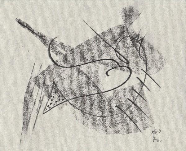 Obras en graphite_0066_Tattoo 3_G by Luis Ituarte