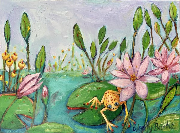Leap Frog by Wendy Bache