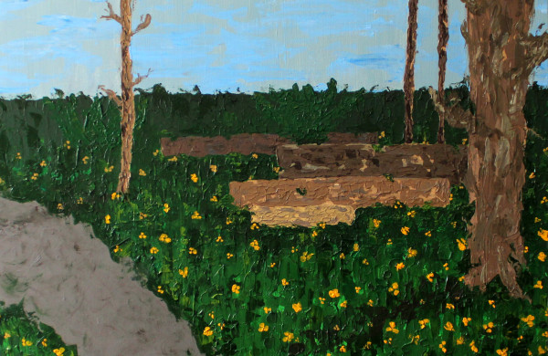 My Trail (Early Spring) by Jennifer Crouch