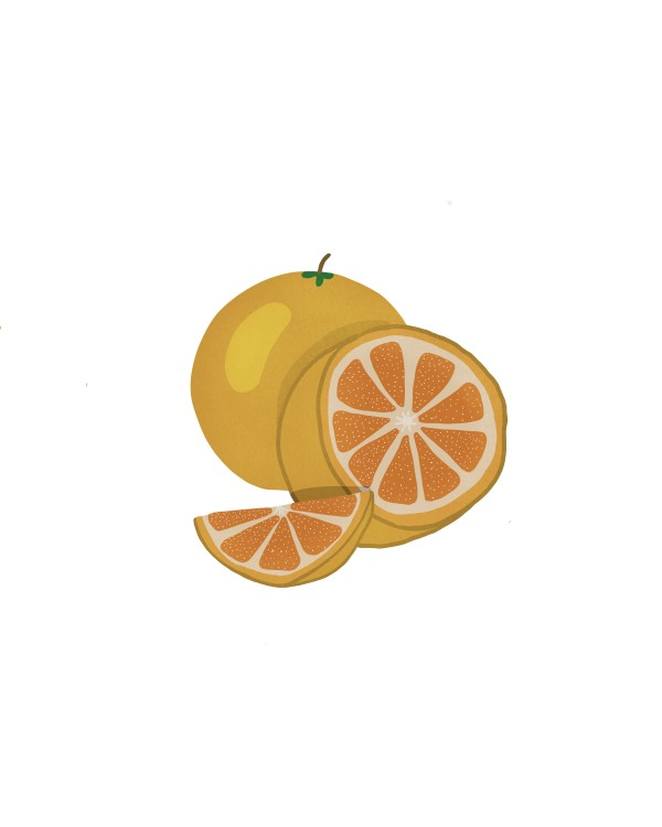 Oranges Times Three by Jennifer Crouch