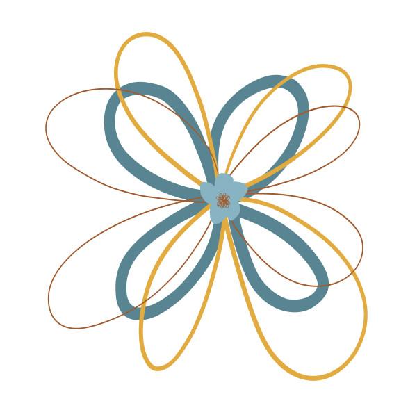 Spiro-flower 01 by Jennifer Crouch