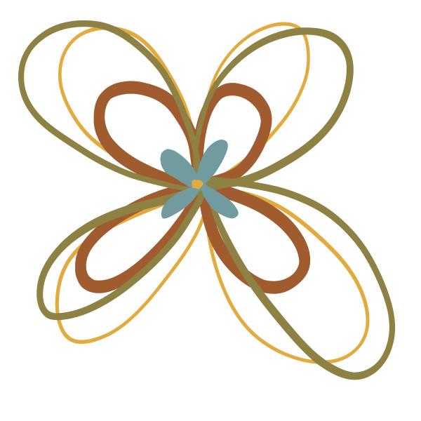 Spiro-Flower 02 by Jennifer Crouch