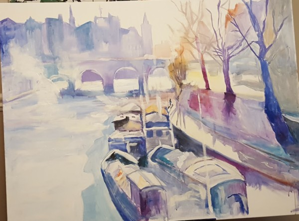Boat Doc by Maria Kelebeev
