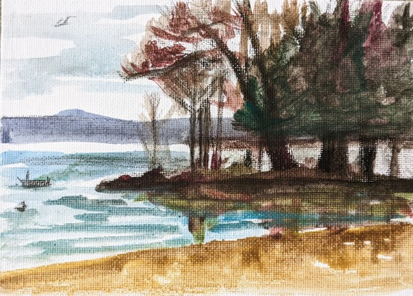 Innisfil Beach Park Views by Maria Kelebeev