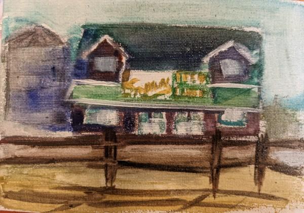 Kernel Simpson Farm by Maria Kelebeev
