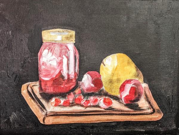 Dark Fruit by Maria Kelebeev