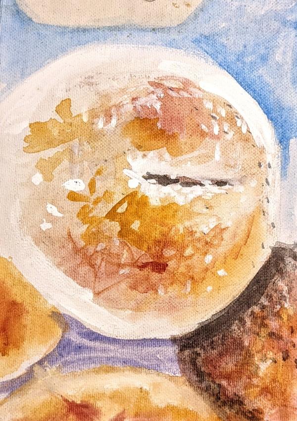 What a Bagel by Maria Kelebeev