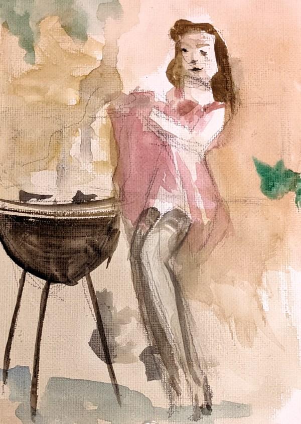 BBQ Time by Maria Kelebeev