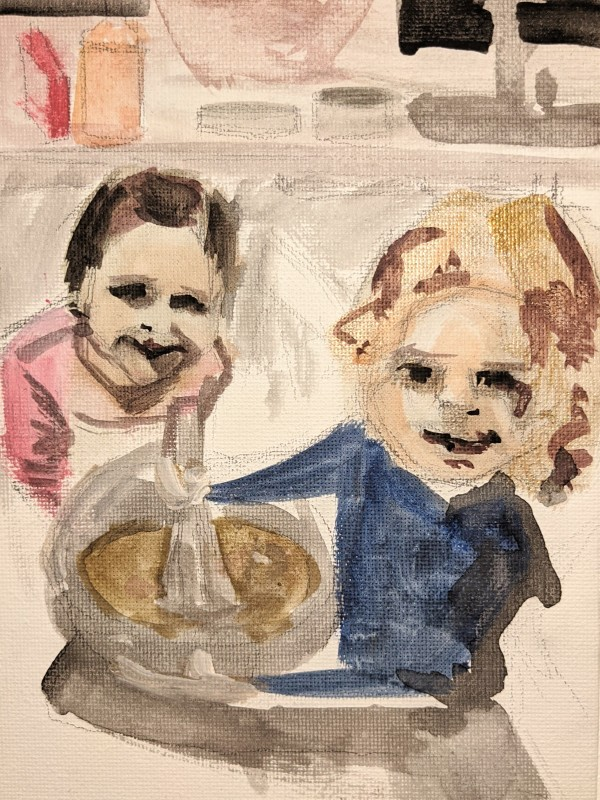 Baking Time by Maria Kelebeev
