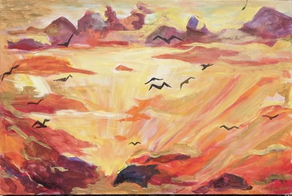 Wings by Maria Kelebeev