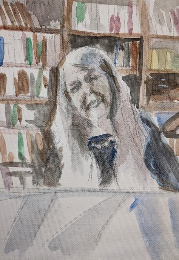 Dame Winifred Mary Beard by Maria Kelebeev