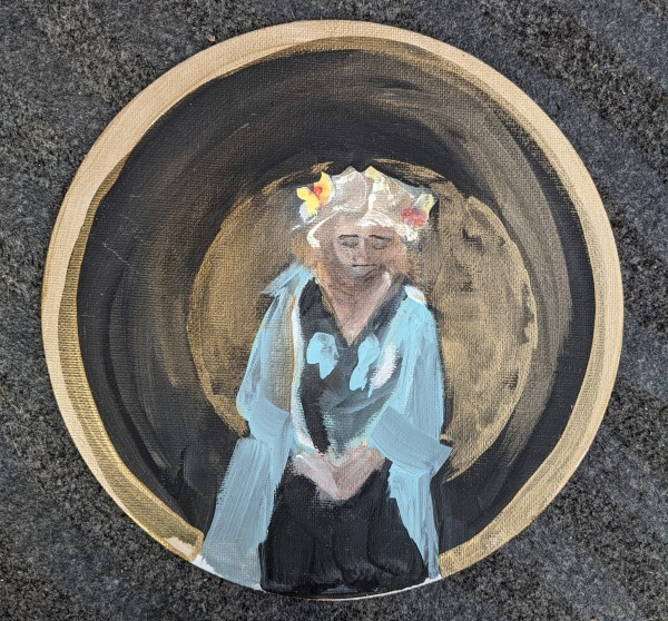 Guidance Medalion by Maria Kelebeev