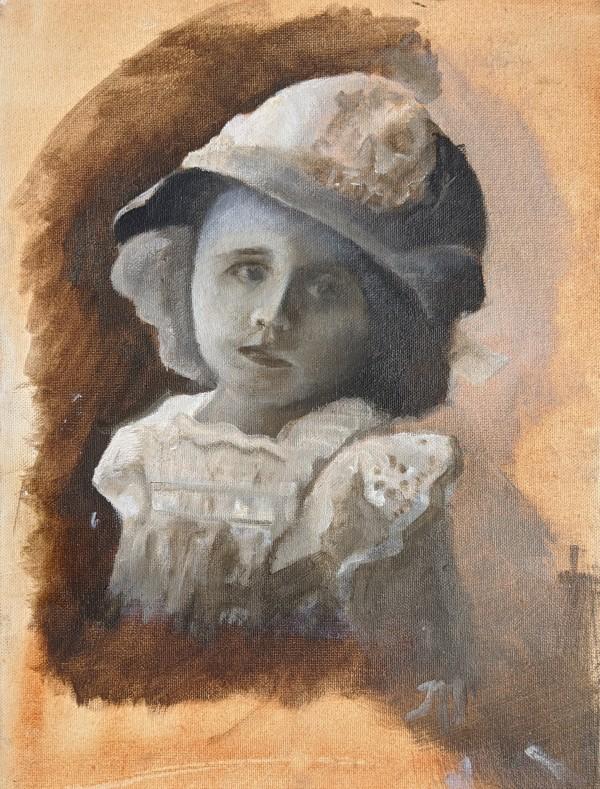 Vintage baby by Maria Kelebeev