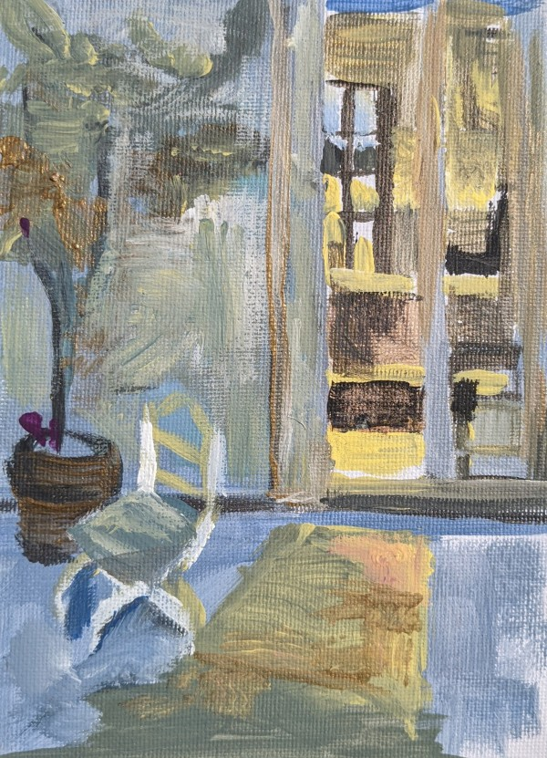 A resting chair by Maria Kelebeev