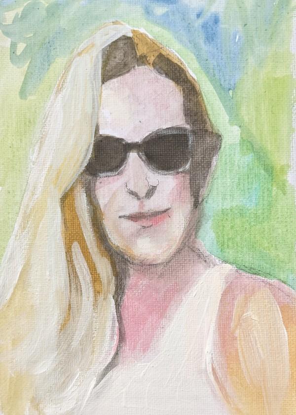 Eva Dihand by Maria Kelebeev