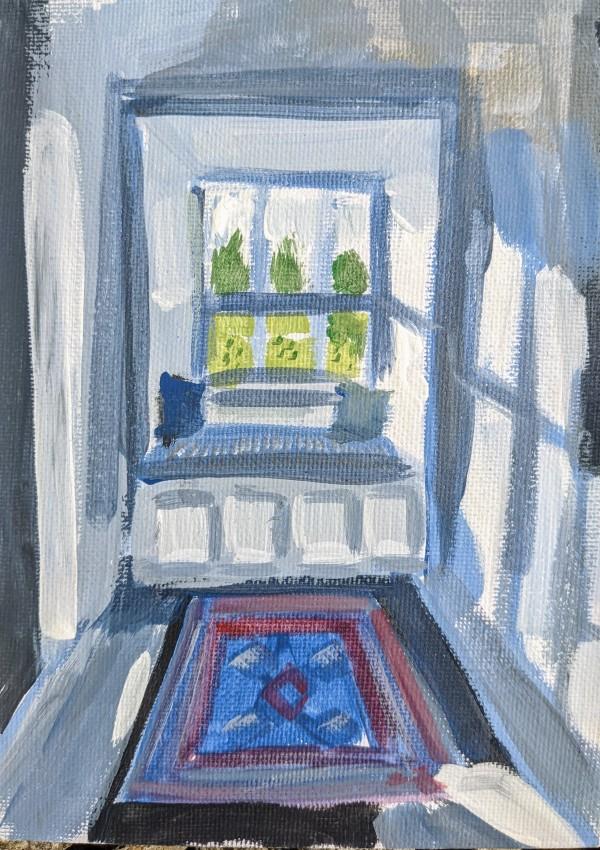 Reading Nook by Maria Kelebeev