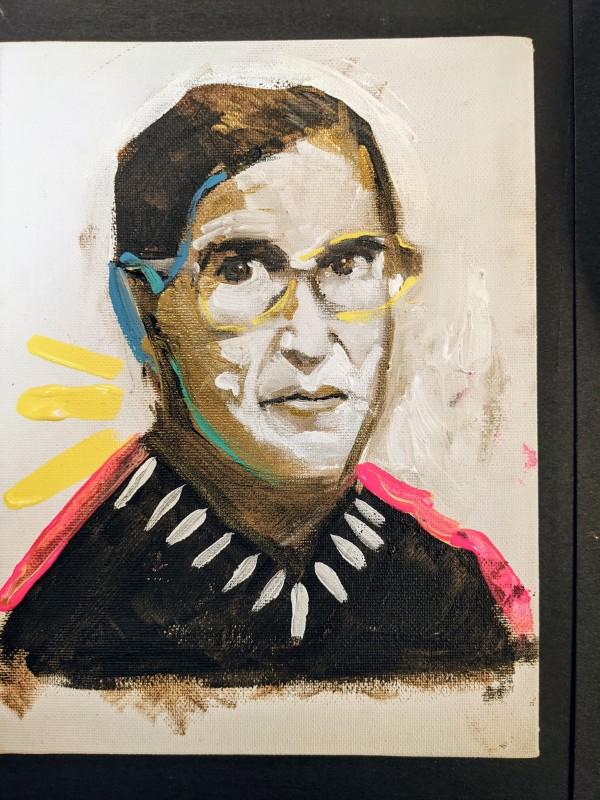 Ruth Badar Ginsberg by Maria Kelebeev