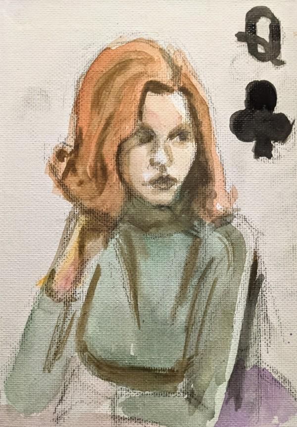 Beth Harmon by Maria Kelebeev