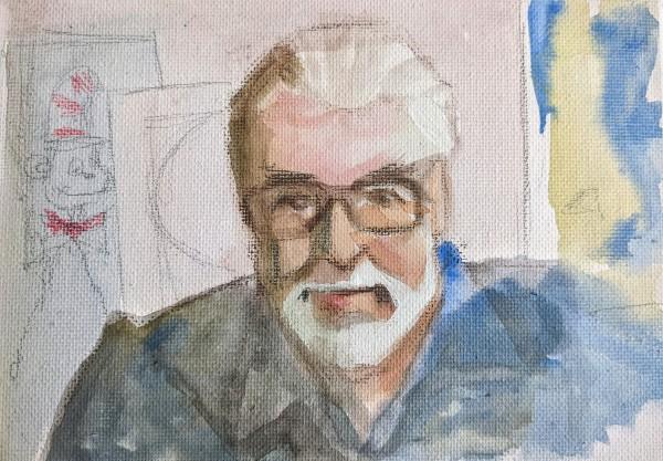 Theodor Geisel aka  Dr.Suess by Maria Kelebeev