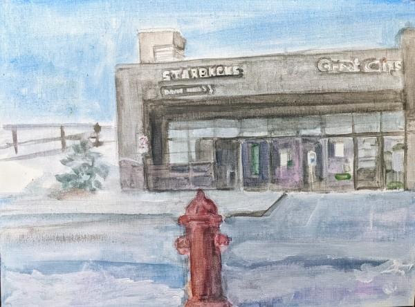 Innisfil Starbucks by Maria Kelebeev