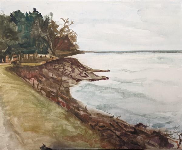 The Shore by Maria Kelebeev