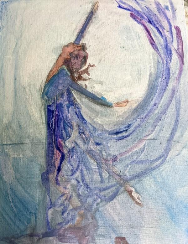 Open heart dance by Maria Kelebeev