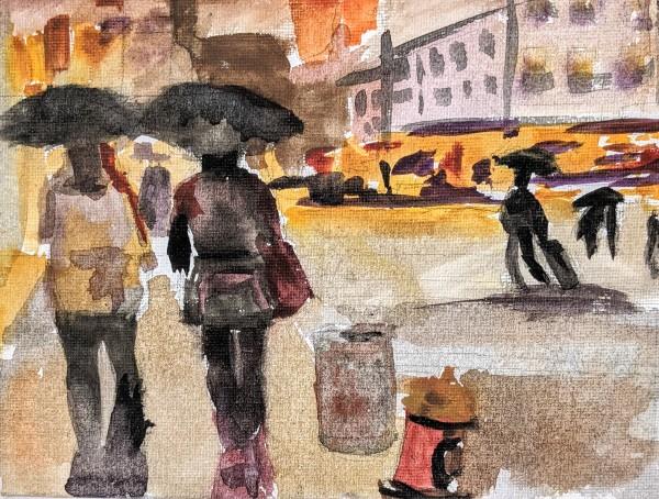 Strolling chat by Maria Kelebeev