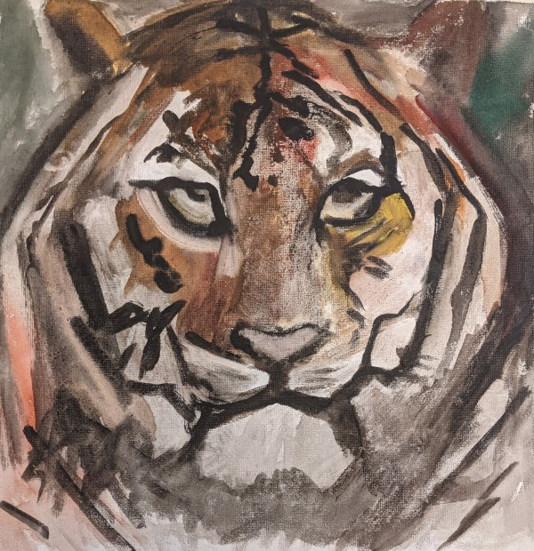 Spirit Animal by Maria Kelebeev