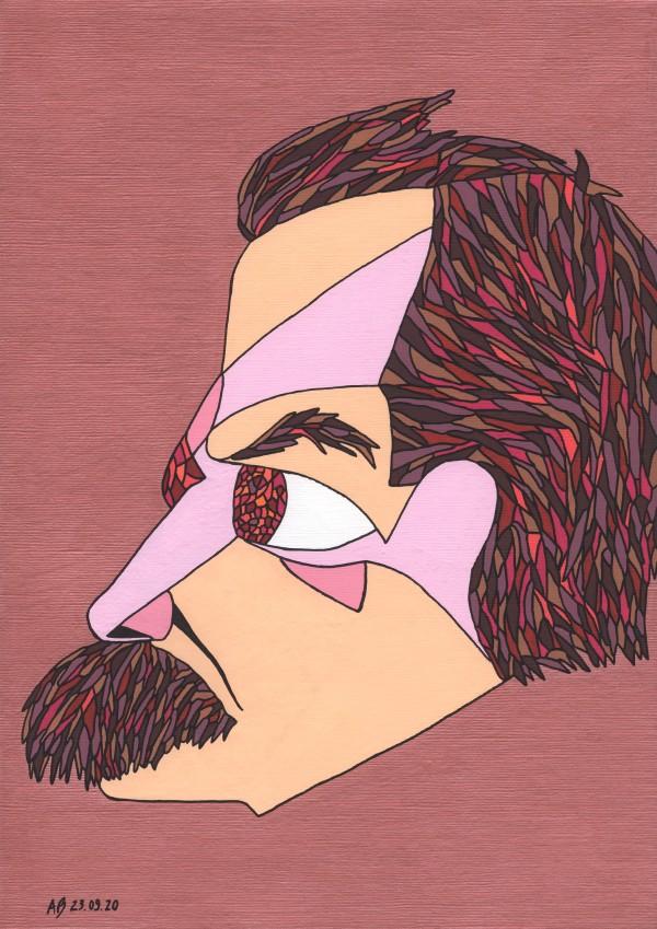 Friedrich Nietzsche by Andrea Bonaceto