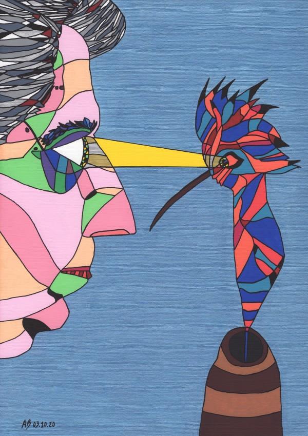 Eugenio Montale by Andrea Bonaceto
