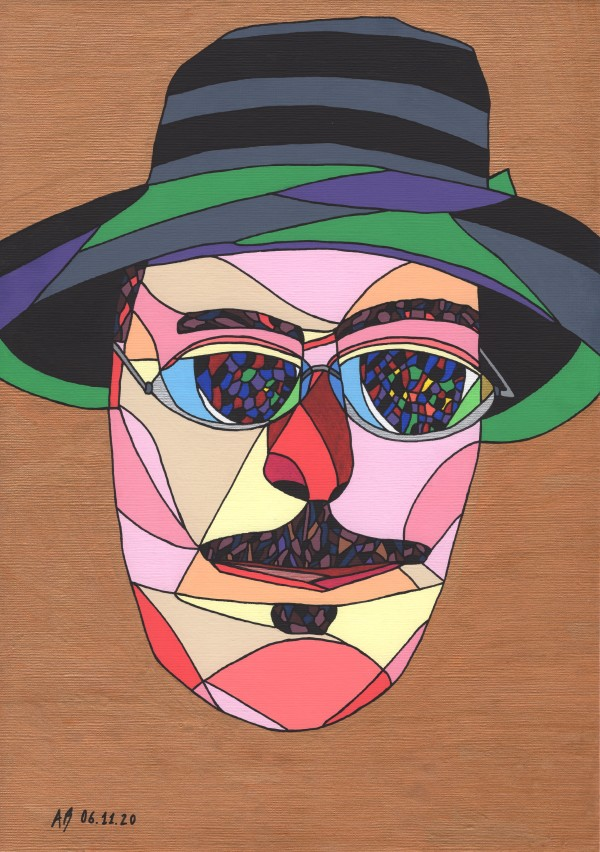 Fernando Pessoa by Andrea Bonaceto