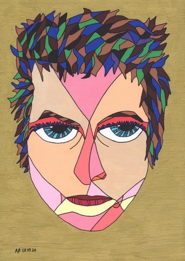 Bob Dylan by Andrea Bonaceto